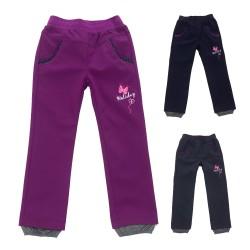 Dívčí softshellové kalhoty 92-110