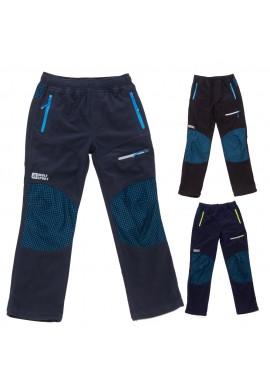 Chlapecké manšestr. kalhoty 116-146