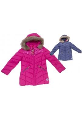 Dívčí zimní bundy 116-146