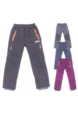 Dětské softshell. kalhoty 116-146