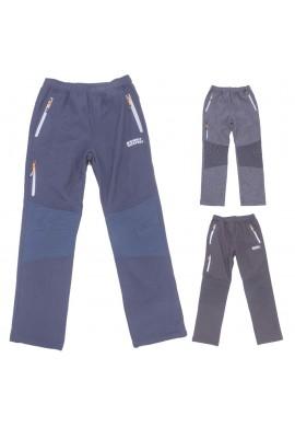 Chlapecké softshell. kalhoty 134-164
