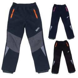 Dětské softshell.kalhoty 116-146