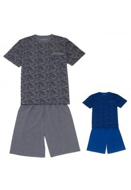 Pánské pyžamo krátké