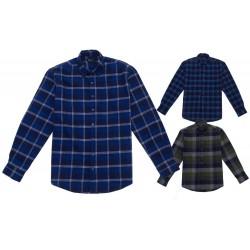 Pánské flanelové košile M-XXL